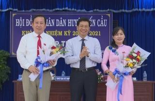 Bến Cầu: Bầu chức danh Chủ tịch, Phó Chủ tịch UBND huyện