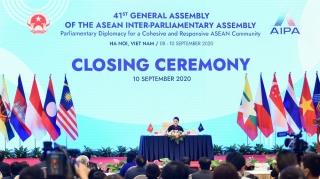 Toàn văn phát biểu bế mạc Đại hội đồng AIPA 41 của Chủ tịch quốc hội Nguyễn Thị Kim Ngân, Chủ tịch đại hội đồng AIPA 41