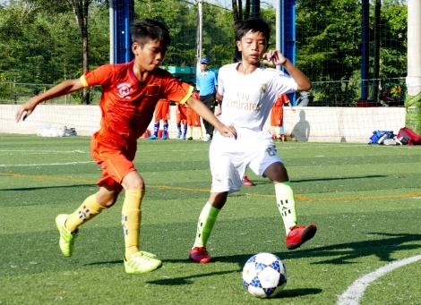 Khởi tranh môn bóng đá, bóng chuyền HỘI KHOẺ PHÙ ĐỔNG TP. Tây Ninh năm học 2020 - 2021: Hấp dẫn ngay từ đầu