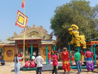 Các ngôi thờ Huỳnh Công Nghệ