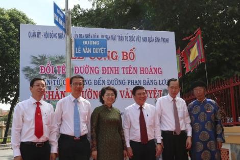 TP.HCM chính thức có đường Lê Văn Duyệt