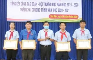TP. Tây Ninh, Châu Thành, Tân Biên: Tổng kết công tác Đoàn-Đội trường học năm học 2019-2020