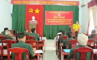 Hội CCB Thành phố Tây Ninh và huyện Dương Minh Châu sơ kết giữa nhiệm kỳ