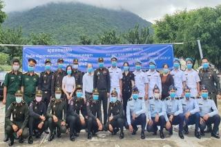 Giải toả cách ly cho hơn 300 học viên quân sự Campuchia