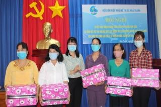 Hội LHPN thị xã Hoà Thành: Sơ kết hoạt động phong trào phụ nữ 9 tháng đầu năm 2020