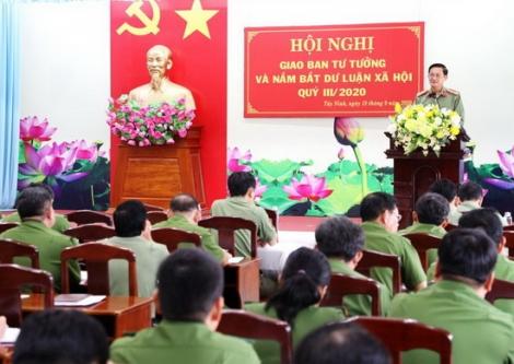 Công an tỉnh quyết tâm giữ vững an ninh chính trị, trật tự xã hội trên địa bàn