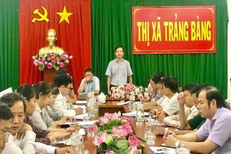 UBND thị xã Trảng Bàng và huyện Gò Dầu họp phiên định kỳ tháng 9.2020