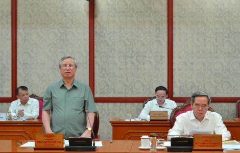 Bộ Chính trị duyệt nội dung văn kiện, nhân sự Đại hội Đảng bộ tỉnh Tây Ninh, nhiệm kỳ 2020 - 2025