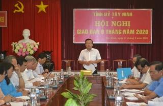 Đại hội đại biểu Đảng bộ tỉnh Tây Ninh lần thứ XI: Dự kiến diễn ra từ ngày 14- 16.10.2020