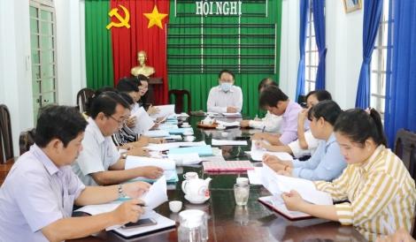 HĐND huyện Gò Dầu giám sát việc giải quyết đơn thư, khiếu nại, tố cáo và kiến nghị liên quan đến lĩnh vực đất đai