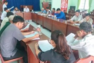 Giám sát về giảm nghèo bền vững tại xã Phước Bình, thị xã Trảng Bàng