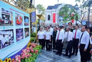 Khai mạc triển lãm ảnh nhân kỷ niệm 75 năm Ngày Nam Bộ kháng chiến