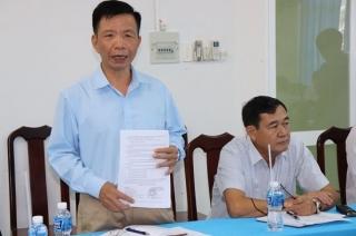 Đoàn ĐBQH tỉnh làm việc với Công ty TNHH MTV Khai thác thuỷ lợi Dầu Tiếng – Phước Hòa