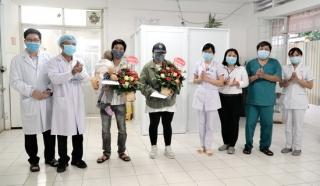 3 bệnh nhân nhiễm Covid-19 số 1053, 1052 và 1054 tại Tây Ninh ra viện