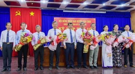 Bà Nguyễn Thị Thành được bầu làm Chủ tịch UBND huyện Tân Châu