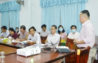 Ban điều phối Dự án DISTINCT tỉnh họp triển khai nhiệm vụ quý IV