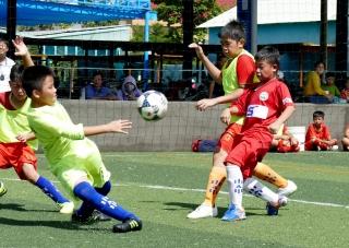 Đội TH Kim Đồng và THCS Nguyễn Văn Linh vô địch
