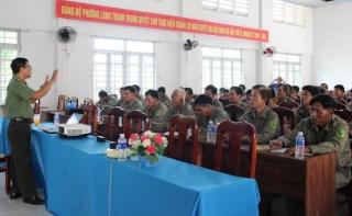 Công an tỉnh: Tổ chức bồi dưỡng nghiệp vụ cho lực lượng bảo vệ dân phố