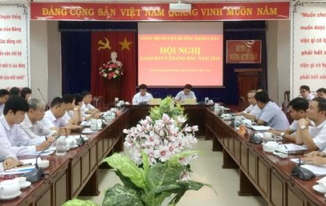 9 tháng đầu năm, huyện Dương Minh Châu thu ngân sách tăng 21% so với cùng