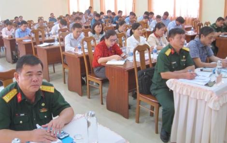 Tân Biên: Tổng kết 5 năm xây dựng dân quân tự vệ giai đoạn 2016-2020.