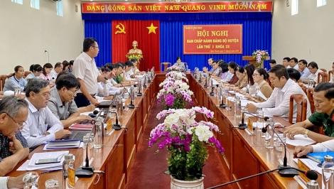 Ban Chấp hành Đảng bộ huyện Châu Thành khóa XII  tổ chức Hội nghị lần thứ 3