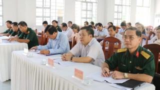 Gò Dầu: Tổng kết các đề án, kế hoạch về dân quân tự vệ