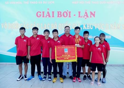 Tây Ninh hạng ba toàn đoàn môn lặn
