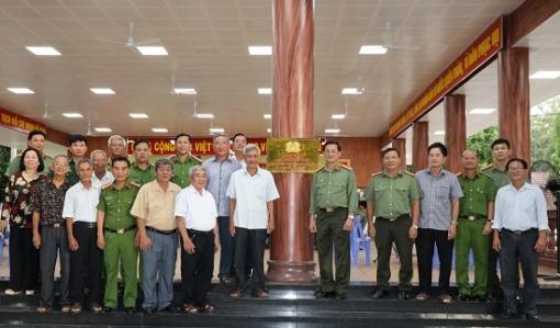Công an tỉnh: Khánh thành Nhà sinh hoạt truyền thống Ban An ninh Trung ương cục miền Nam