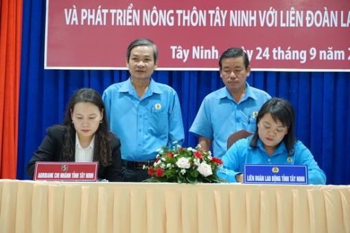 Ký kết thoả thuận hợp tác với Agribank Tây Ninh