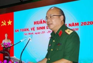 Quân khu 7 khai mạc huấn luyện an toàn, vệ sinh lao động năm 2020
