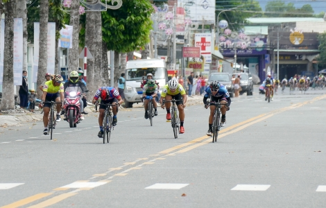 Hoàn tất chặng 3 tại Tây Ninh