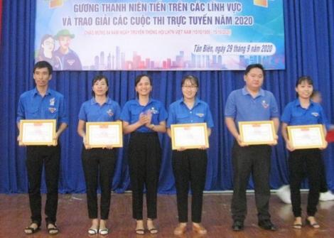 Huyện đoàn Tân Biên tuyên dương nhiều tập thể, cá nhân thanh niên điển hình tiên tiến