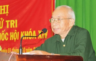 ĐBQH tiếp xúc cử tri trước kỳ họp thứ 10, Quốc hội khóa XIV