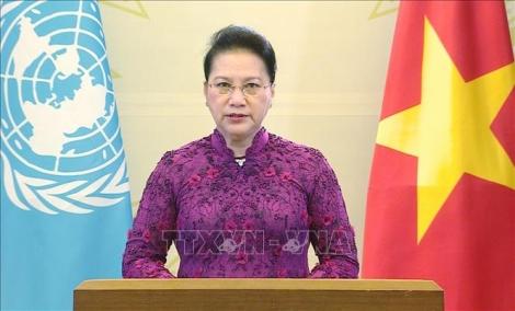 Thông điệp của Chủ tịch Quốc hội tại Phiên họp cấp cao Kỷ niệm 25 năm Hội nghị thế giới lần thứ IV về phụ nữ