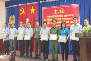 Huyện Dương Minh Châu: 24 đơn vị điển hình tiên tiến trong phong trào toàn dân tham gia Phòng cháy chữa cháy