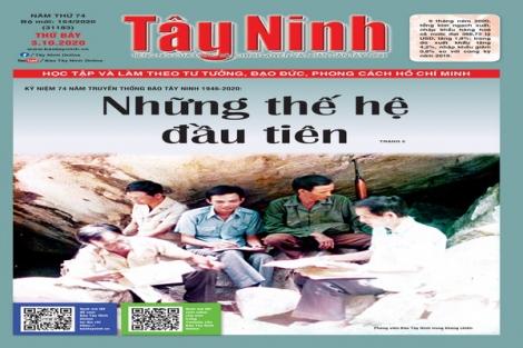 Điểm báo in Tây Ninh ngày 03.10.2020