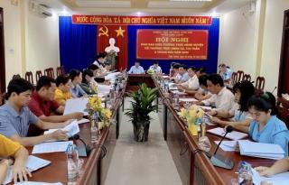 Giao ban thường trực HĐND huyện và xã, thị trấn 9 tháng đầu năm 2020