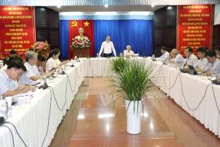 Tây Ninh: Họp giao ban xây dựng cơ bản tháng 10.2020
