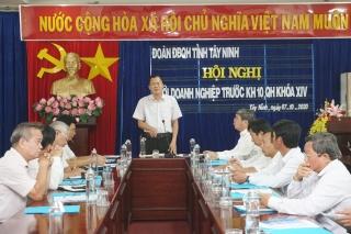 Hội nghị với doanh nghiệp trước kỳ họp 10, Quốc hội khóa XIV