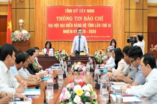 Tỉnh uỷ: Thông tin báo chí về Ðại hội đại biểu Ðảng bộ tỉnh lần thứ XI nhiệm kỳ 2020-2025