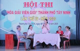 """Hội thi """"Hòa giải viên giỏi"""" Thành phố Tây Ninh lần thứ IV năm 2020"""