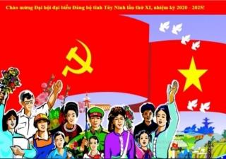 """Kết quả Cuộc thi tìm hiểu """"Đảng bộ tỉnh Tây Ninh qua Mười kỳ Đại hội"""" tháng 9/2020"""