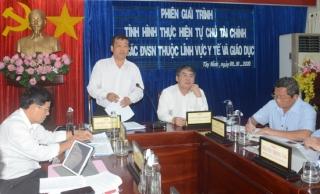 HĐND tỉnh: Tổ chức phiên giải trình về tự chủ trong y tế, giáo dục