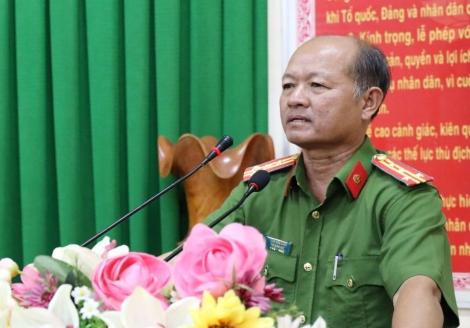 Ra quân đảm bảo ANTT cho Đại hội Đảng bộ tỉnh