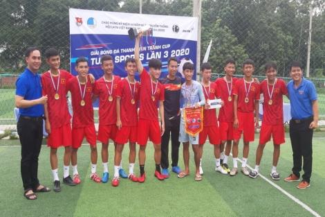 TP. Tây Ninh: Tổ chức Giải bóng đá Cúp Tuấn Sports lần 3.2020