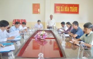 HĐND Hòa Thành giám sát việc tiếp công dân và giải quyết khiếu nại, tố cáo
