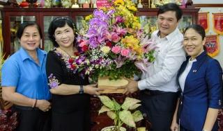 Lãnh đạo huyện Tân Châu thăm các doanh nghiệp tiêu biểu
