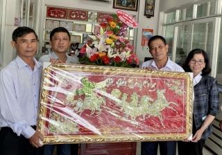 Châu Thành thăm các doanh nghiệp trên địa bàn huyện