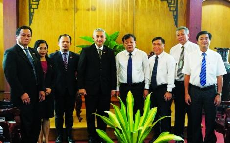 Tây Ninh qua một nhiệm kỳ (2015 - 2020) - Hoạt động đối ngoại và ký kết hợp tác quốc tế