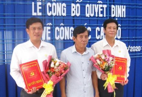 Huyện ủy Tân Biên công bố quyết định về công tác cán bộ